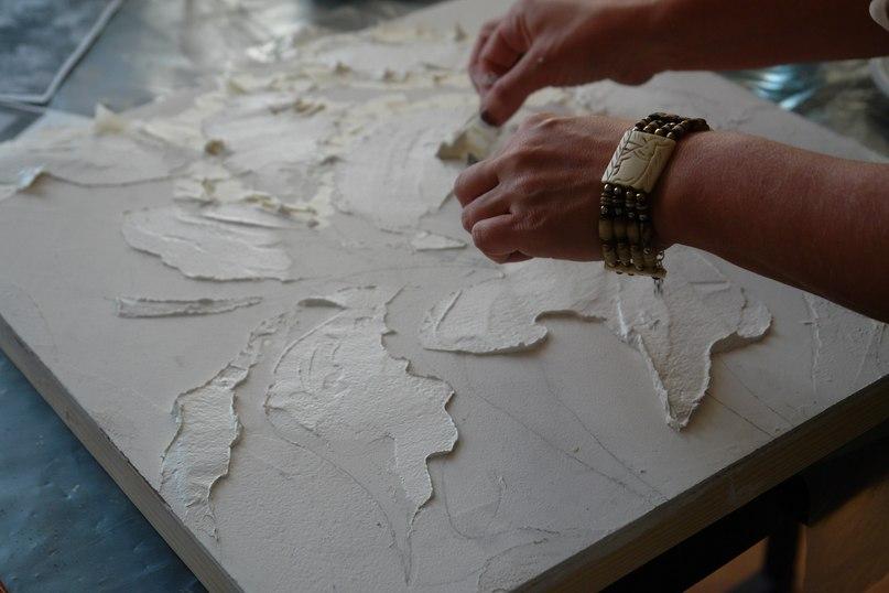 Мастер класс по декоративной штукатурке своими руками