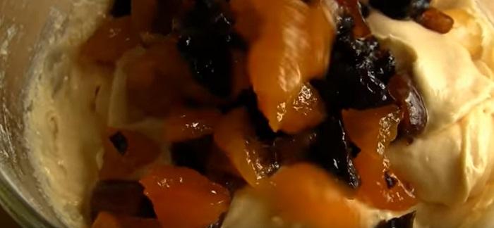 пряный кекс с мандаринами