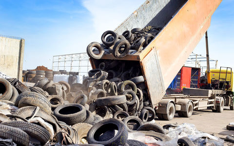 Британские ученые: старые шины могут смягчить последствия землетрясений
