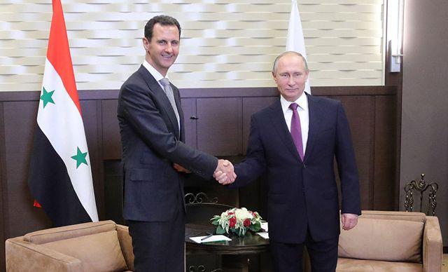 Злопыхательство: Встреча Путина и Асада в изложении «честных СМИ» Запада