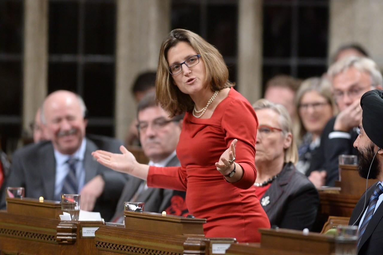 Глава МИД Канады озаботилась польским антибандеровским законом