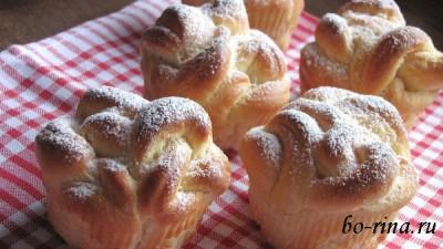 Сдобные булочки «Завитушки»