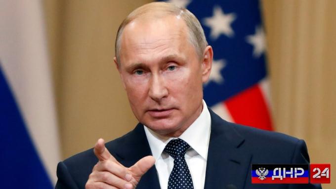 Путин заявил о серьезных рисках в Донбассе