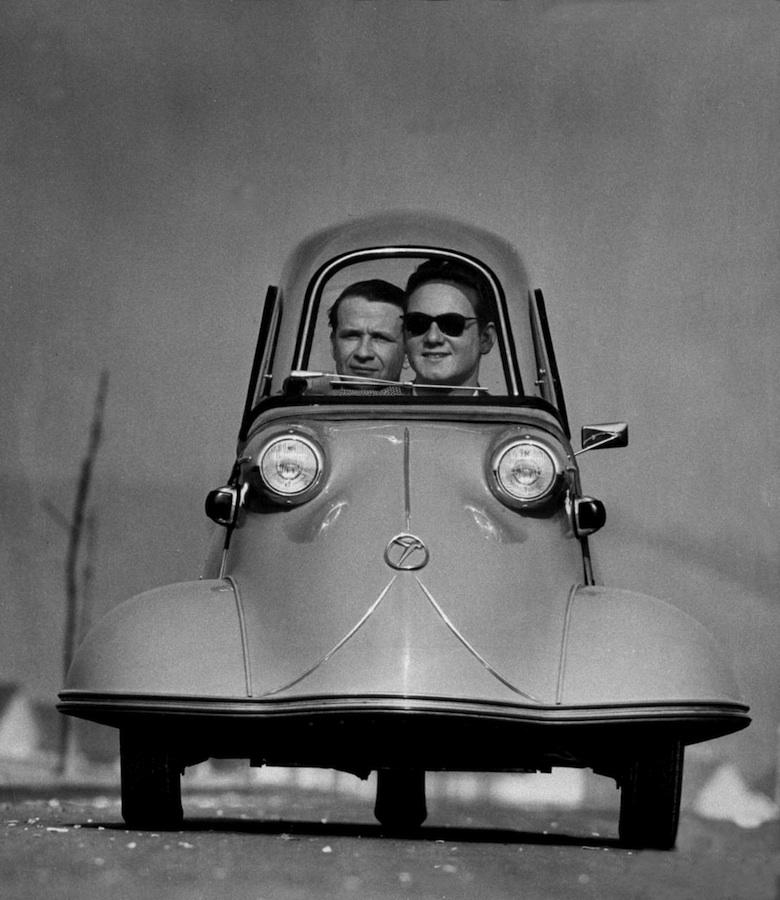 Трехколесный Мессершмитт, 1954.