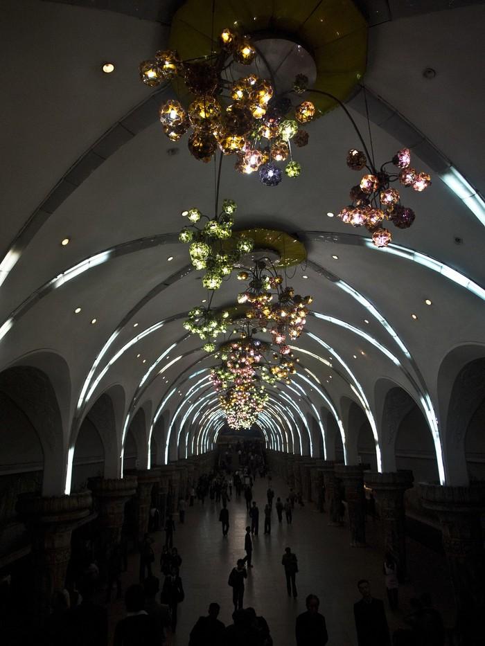 MetroStations22 17 самых волшебных станций метро со всего мира
