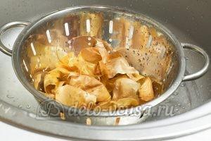 Сало в луковой шелухе: Промыть шелуху