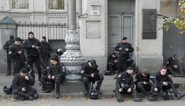 Киев: «Михомайдан» выдохся