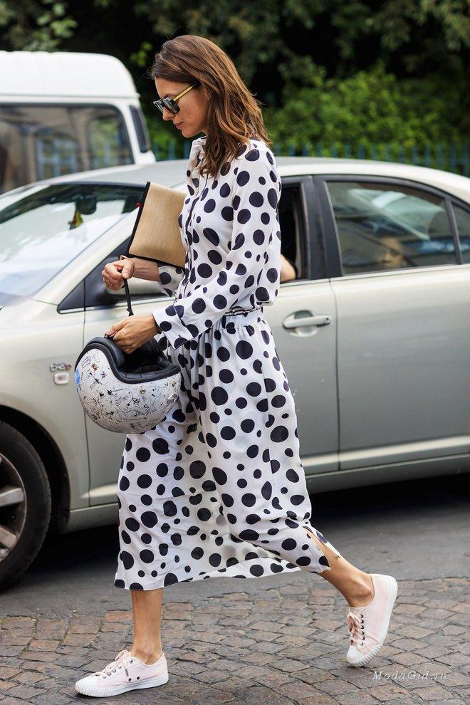 Модный горошек: как создать стильный образ с принтом Polka dot