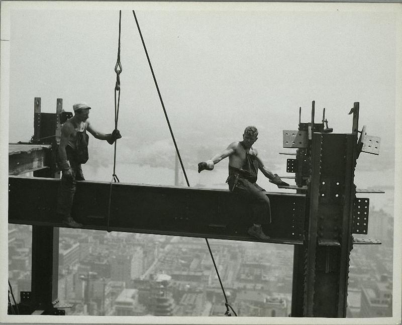 0275 Как строились небоскребы в Нью Йорке