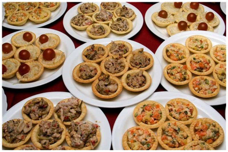 Грибные тарталетки вкусно, грибы, интересное, красиво, познавательно, полезно, рецепты