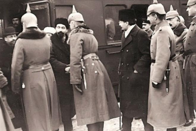 Почему Россия вышла из Первой мировой войны