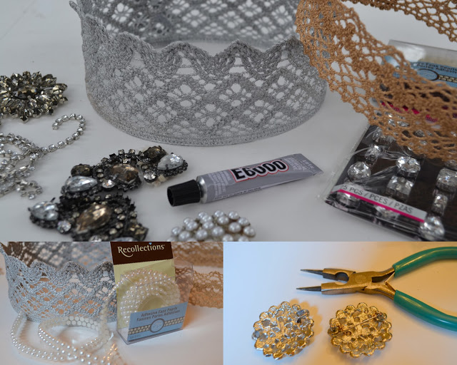 costume jewelry embellished tiara project 5120x4096 (640x512, 115Kb)