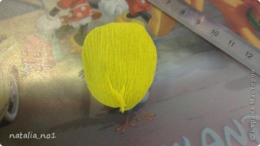Мастер-класс Свит-дизайн Моделирование конструирование МК по изготовлению кувшинки Бумага гофрированная фото 3