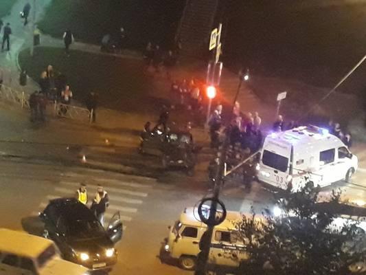 В Красноярске произошло смертельное ДТП