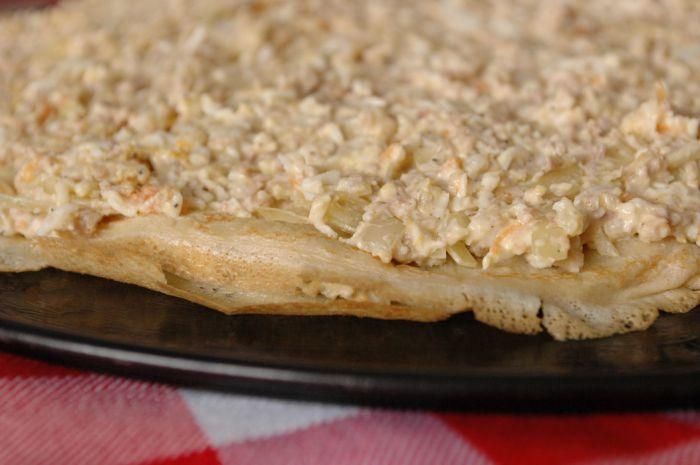 Рязанский блинный торт