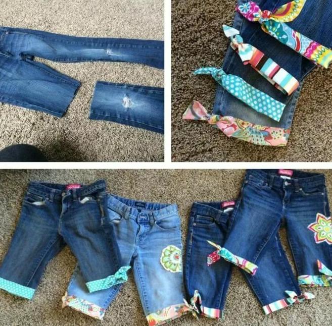 50 эксклюзивных идей: больше ты точно некогда не выбросишь джинсы!