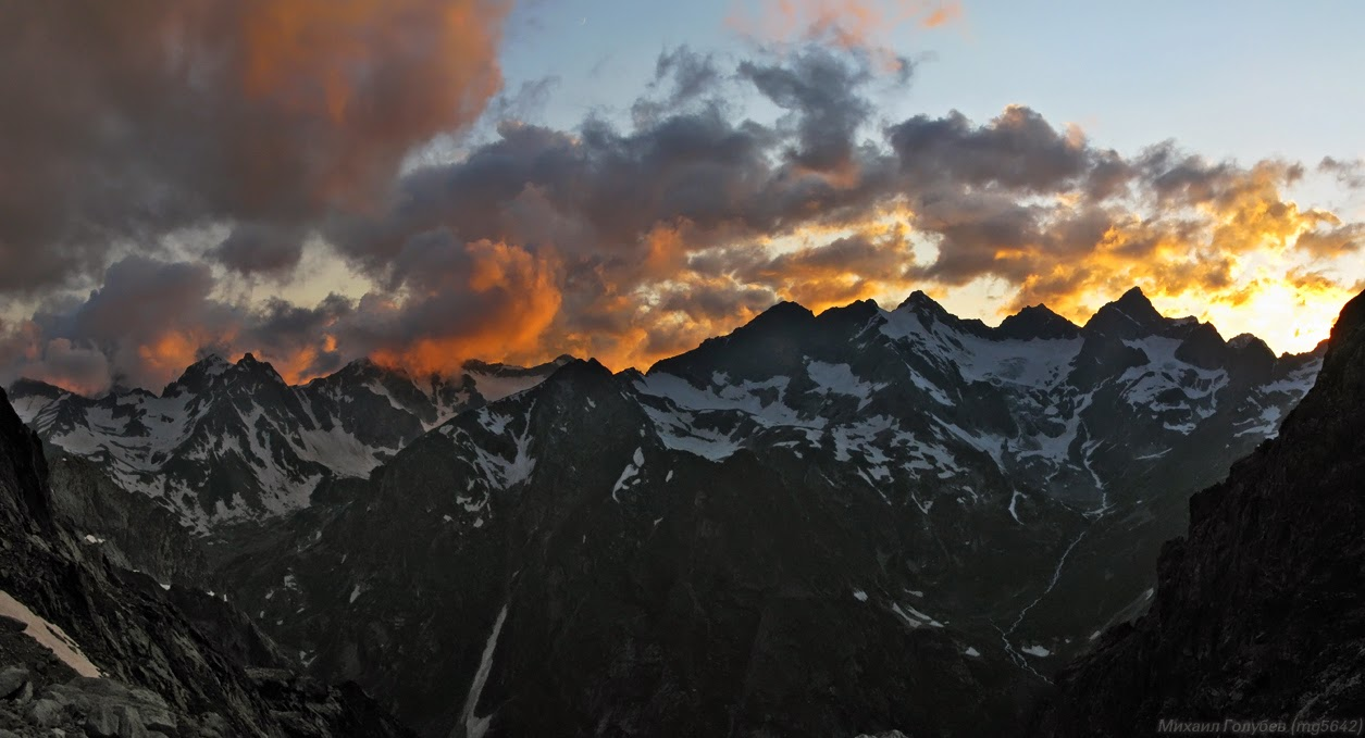 В горах Карачаево-Черкесии и Северной Осетии