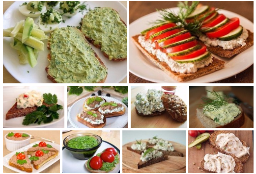 Топ-12 лучших паст для вкусных бутербродов