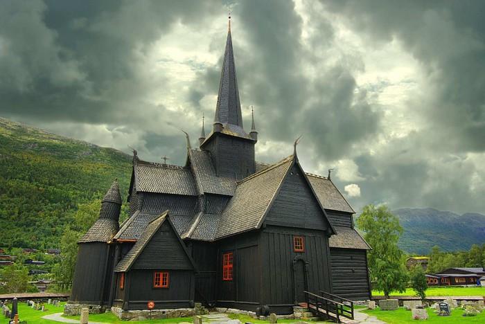 Норвегия. Каркасные церкви — ставкирки