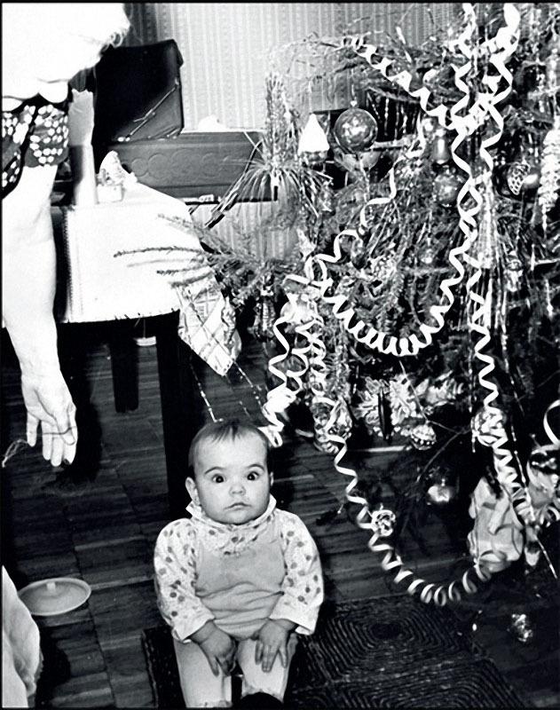 1982. Москва. Новый год в студенческом общежитии на проспекте Мира.jpg