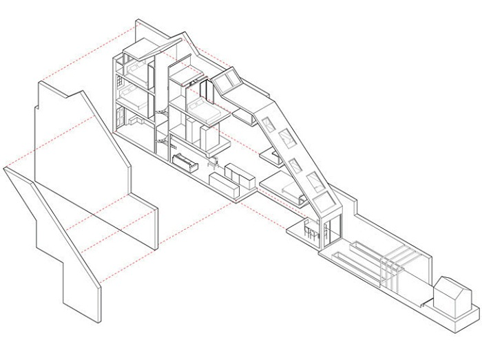 Интерьер трех самых маленьких домов Англии