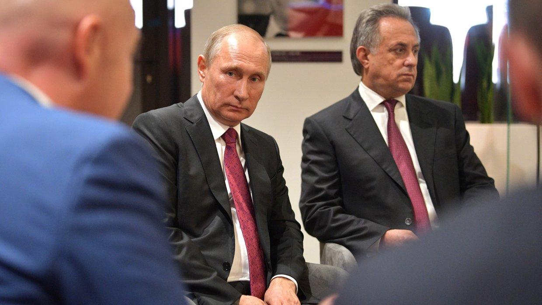 Путин поблагодарил Мутко за …