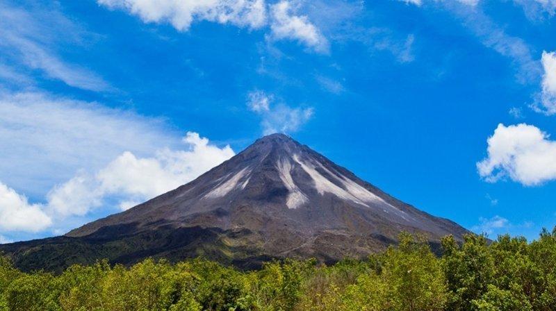 9. Национальный парк вулканов Ареналь (Коста-Рика) заповедник, заповедники, национальные парки, национальный парк, парки, познавательно, страны мира, туристу на заметку