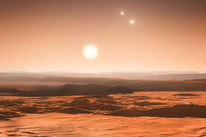 Найдена планетная система с тремя потенциально обитаемыми суперземлями.