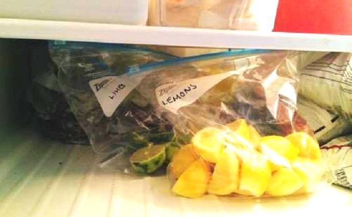 Заморозьте лимоны и попрощай…
