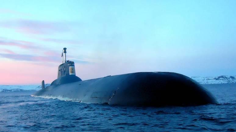 GP: в Швеции беспокоятся — российская атомная подлодка плывёт в Петербург