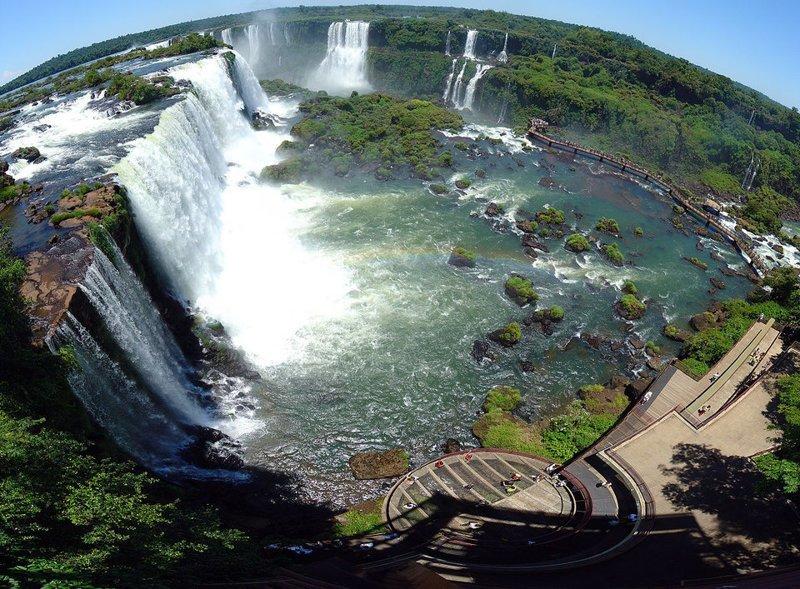 11. Национальный парк Игуасу (Аргентина и Бразилия) заповедник, заповедники, национальные парки, национальный парк, парки, познавательно, страны мира, туристу на заметку