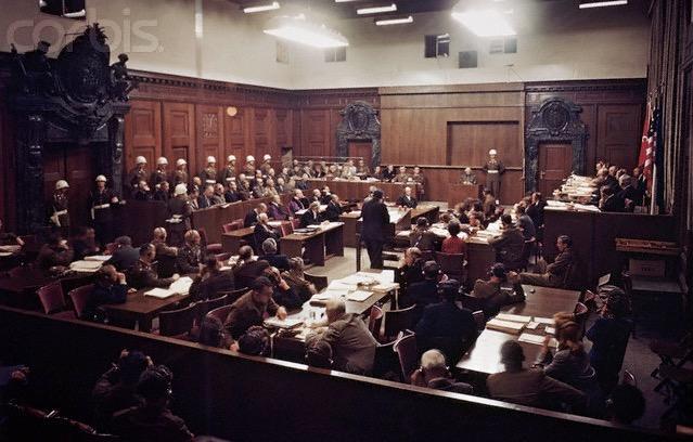 20 ноября 1945 начался Нюрнбергский процесс над главарями нацистского режима в Германии