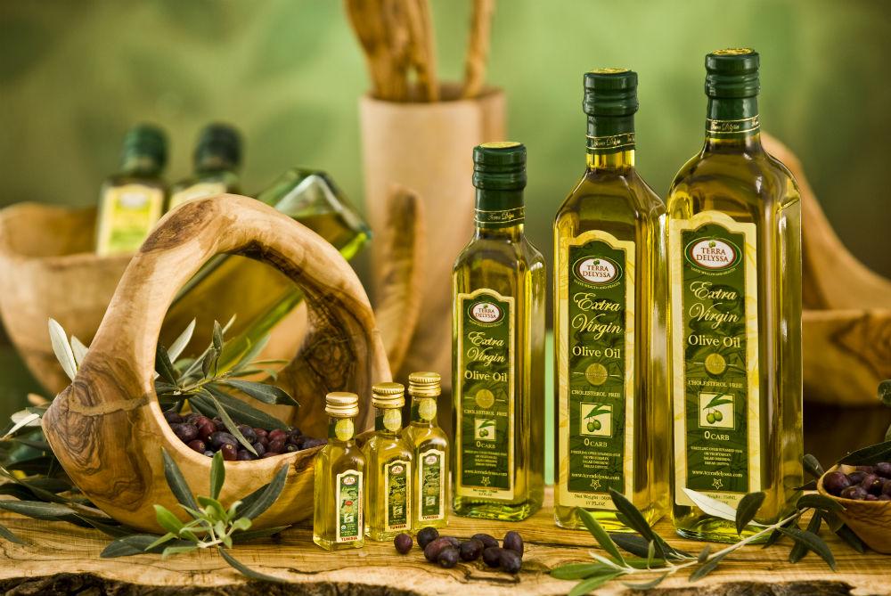 Оливковое масло. Фото