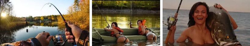 рыбалка на лодке без эхолота