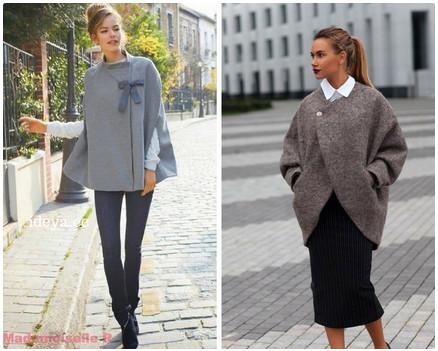 Утепляемся со вкусом, подборка схем модных пальто на осень…
