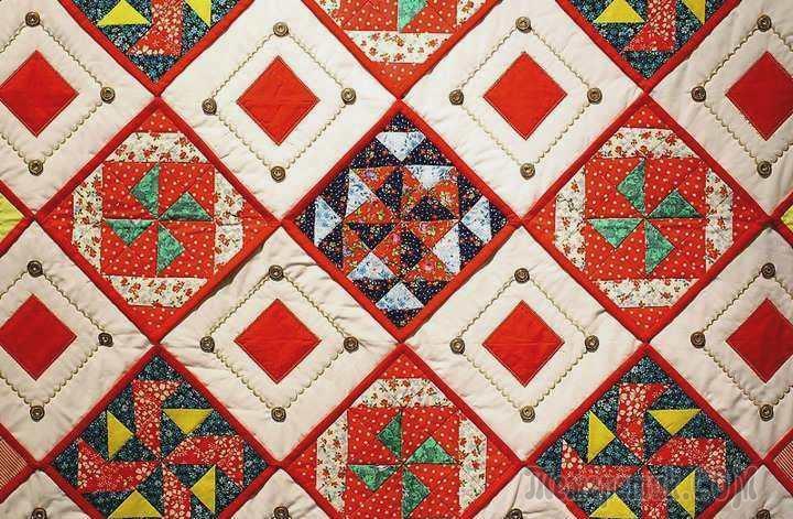 Креативная лоскутная мозаика: уют и совершенство декора