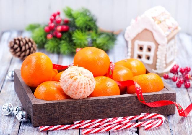 Почему во всех странах едят мандарины и апельсины на Новый год?