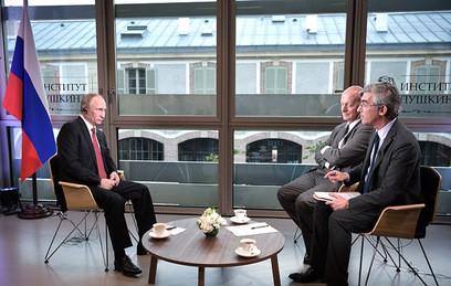 """Путин призвал западных лидеров разобраться, кто у них """"старший"""""""
