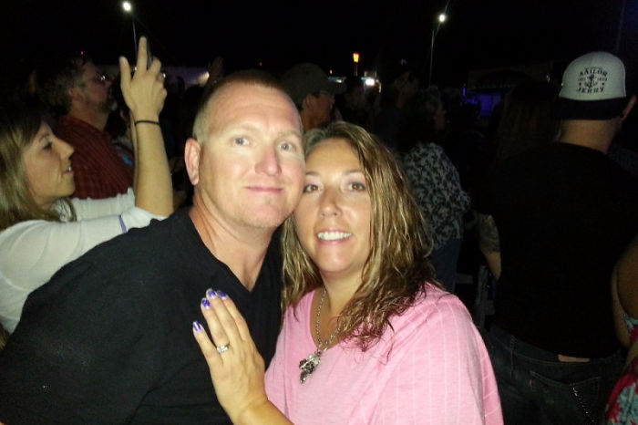 Off-Duty Firefighter Kurt Fowler Was Shot And Seriously Wounded At The Route 91 Harvest Festival In Las Vegas While Shielding His Wife From Gunfire