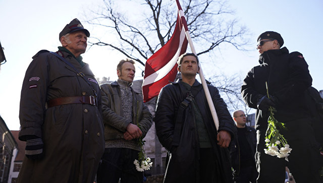 Латвия устроила праздник в честь нацистов и чествует войска СС
