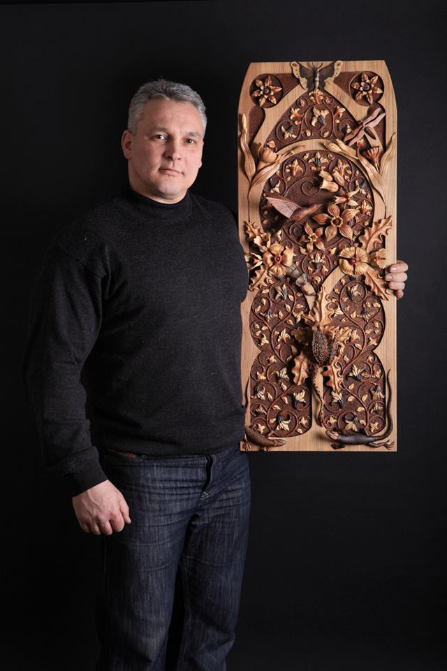 Крымский мастер создает цветные творения из дерева без красок