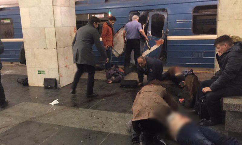 В Санкт-Петербурге объявлен трехдневный траур