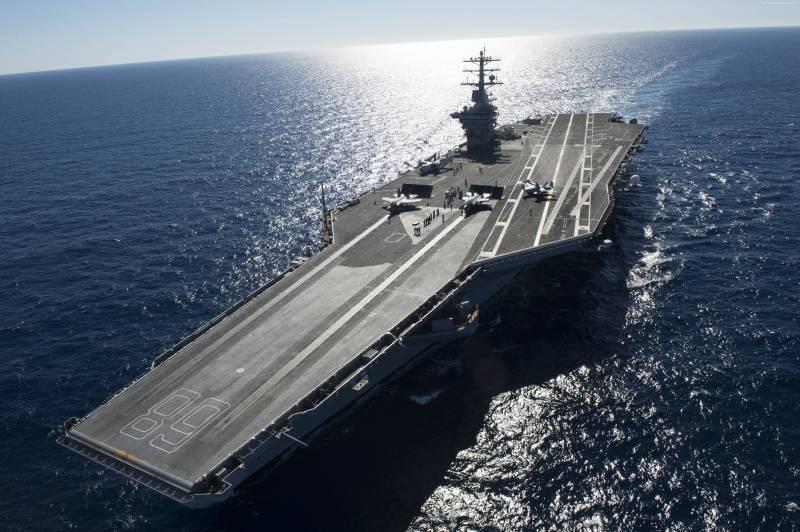 Лечение «детских болезней» «Джеральда Форда» влетит ВМС США в копеечку