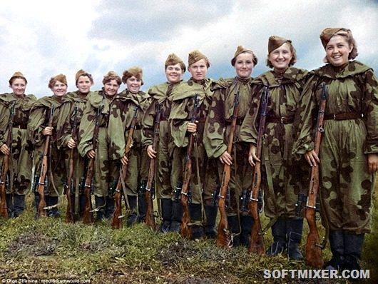 Женщины-снайперы ВОВ