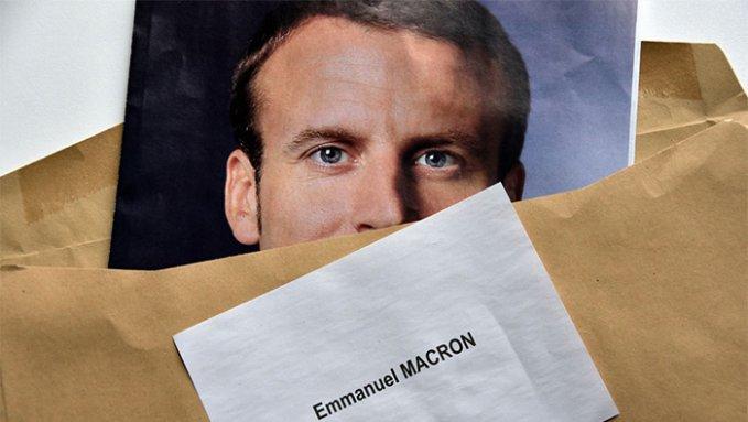 Макрон сигналит Путину?