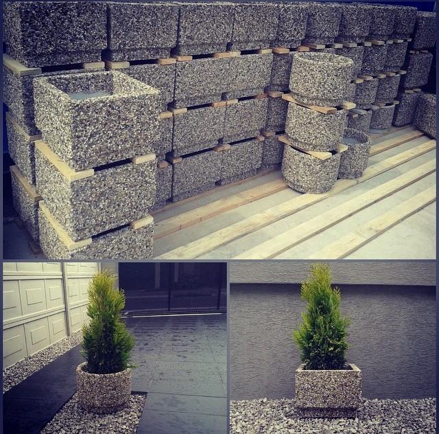"""""""Мытый"""" бетон: оригинальные идеи для дачи своими руками"""