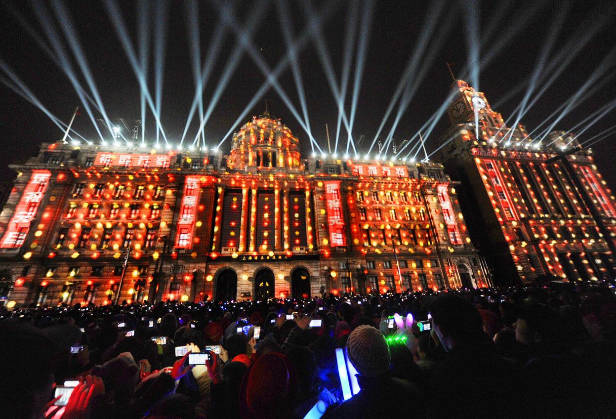 На новый год в китай погода
