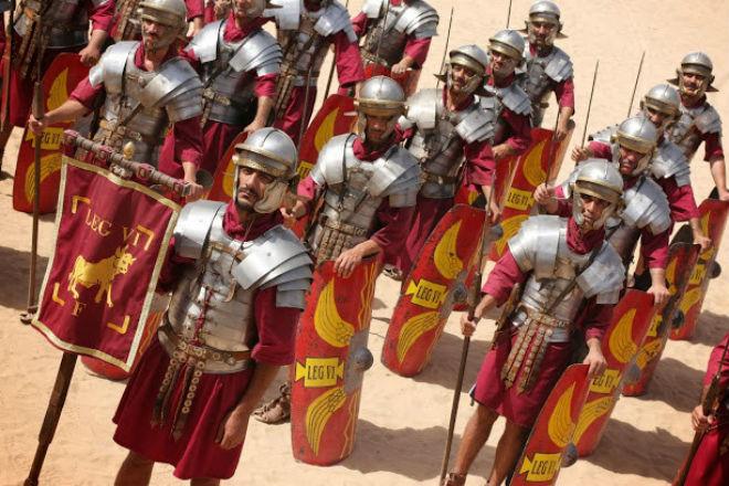 Сухпай солдат в Древнем Риме