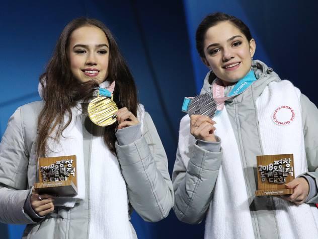 Все медали наших атлетов: Золото Загитовой и триумф «красной машины»