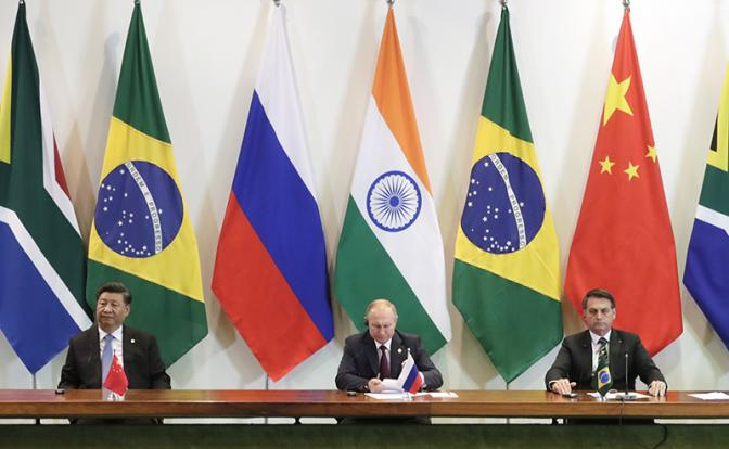Саммит БРИКС: Валютные грезы России